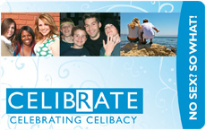 Celibrate card - front